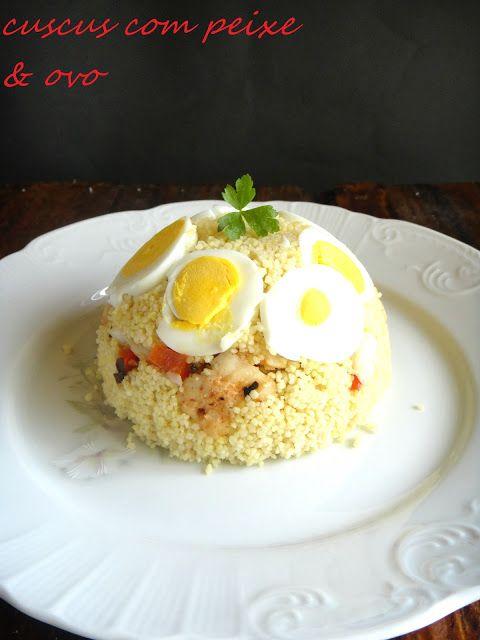 cuscus com peixe e ovo