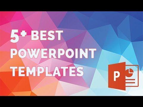 Best Powerpoint Templates - The 5 Best Presentation Template