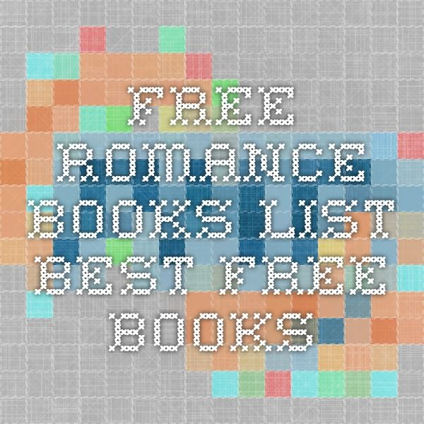 Free Romance Books List-Best free books