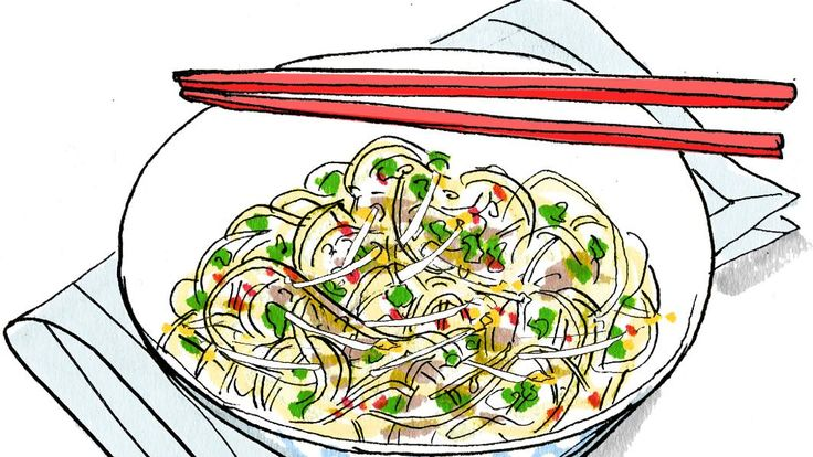 Lindsey Bareham's Chinese noodles with bean sprouts |  | The Times & The Sunday Times