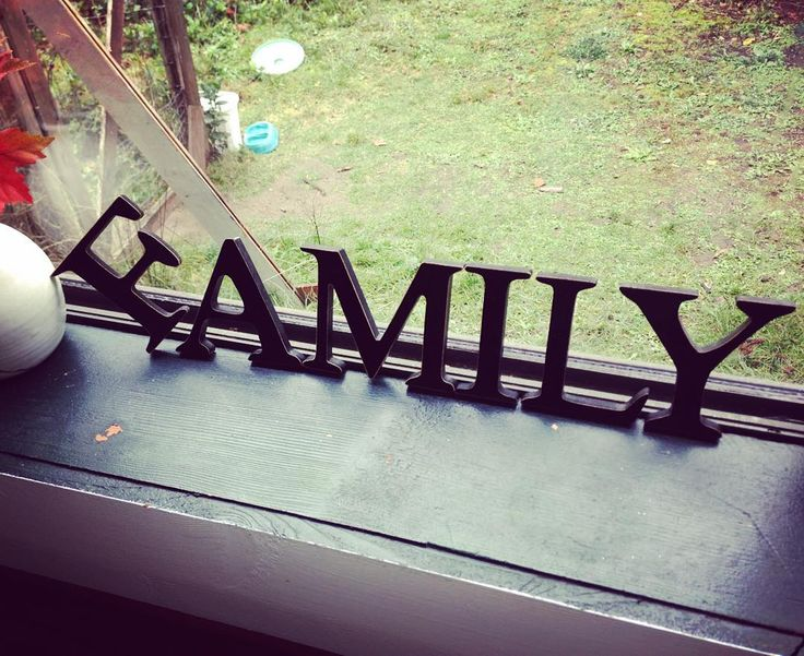 """aaronpritchett: """"On our visit to the in laws house Fran noted """"there's something wrong with the F in FAMILY"""". We agreed there was. #TheEffinFamily #Hahaha! #HashtagHahaha!"""""""