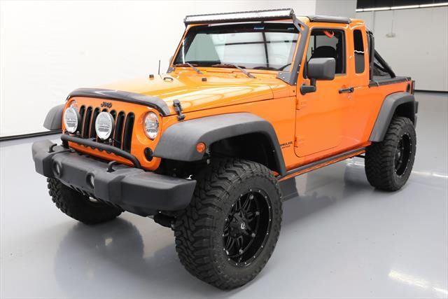 2012 Jeep Wrangler Unlimited Sport Sport Utility 4-Door 2012 JEEP WRANGLER SPORT JK-8 TRUCK 4X4 LIFT 6-SPD NAV! #160212 Texas Direct