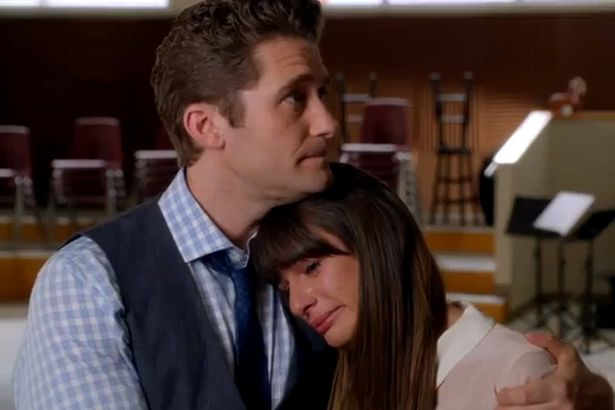 Leah Michele leads emotional Glee tribute to Cory Monteith as cast cry over Finn Hudson