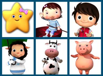 Little Baby Bum characters