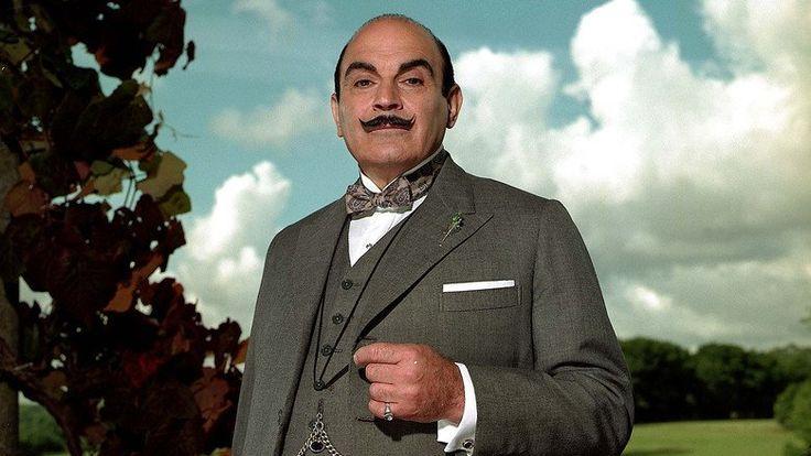 Poster serie Agatha Christie's Poirot