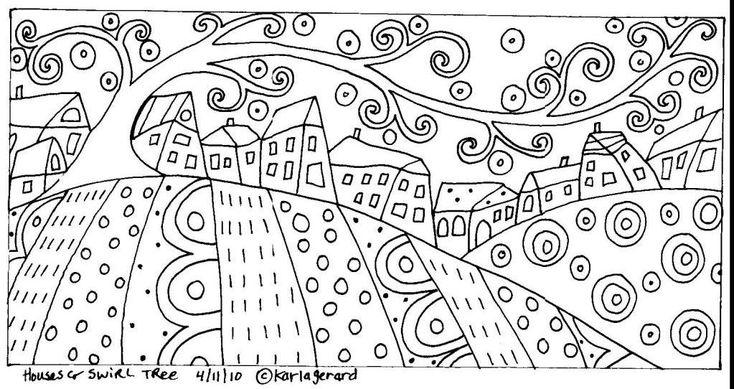 Houses & Swirl Tree photo HousesSwirlTreerughook.jpg