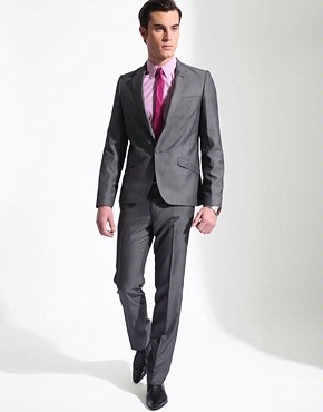 16 best suits images on Pinterest | Pink shirts, Gray suits and ...