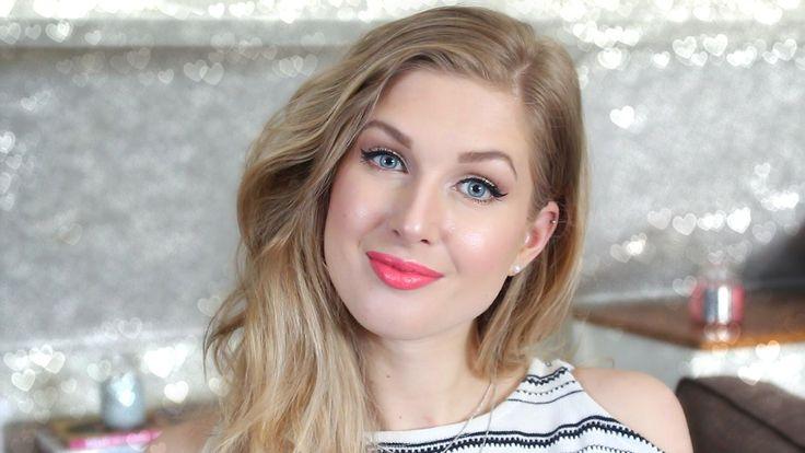 Sunkissed Koraal Makeup Look | Sarah Rebecca