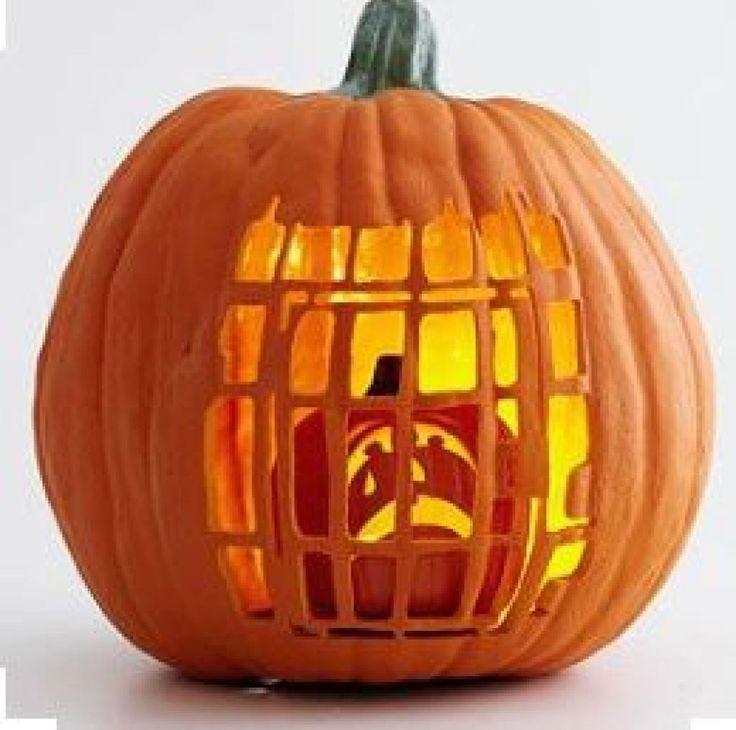 Ne vous contentez pas de creuser des triangles dans vos citrouilles d'Halloween:30 idées Pinterest pour les décorer avec panache - Bricolages - Trucs et Bricolages