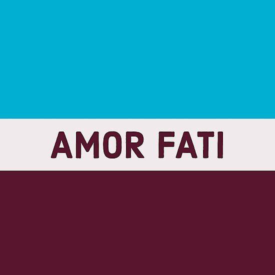 AMOR FATI – STOIC WISDOM | Photographic Print