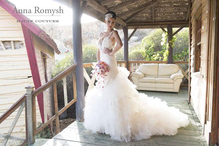 #AnnaRomyshHuteCouture #hautecouture #weddingdress #bride #bridal #lace  #PannaMłoda #suknieślubne