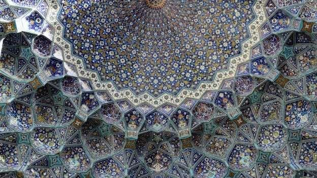 5. La mezquita del Imam Jomeini, Isfahán (Irán) - Alamy vía BBC Mundo