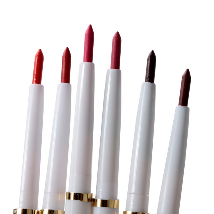 1 PS Naturalne Marki Automatyczny Obrotowy Eyeliner długotrwały Makijaż Sexy Produkty Lipliner Pani Wodoodporna Piękno Czerwone Wargi ołówek