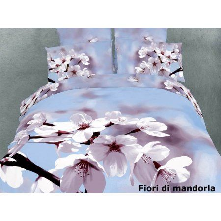 6-Pc Bedding Set in Fiori Di Mandorla - Walmart.com