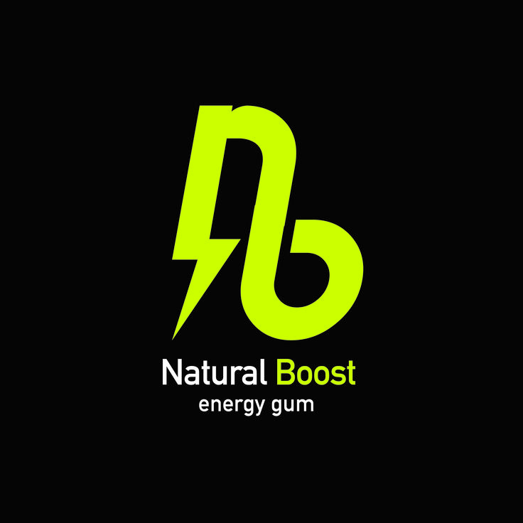 Logotipo para Natural Boost Energy Gum