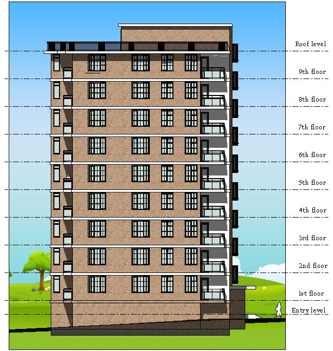Front Elevation Design In Revit : Best images about apartment house design revit on