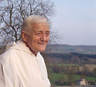 FRÈRE ROGER, fondateur de la communauté de Taizé. / BROTHER ROGER, his civil status name ROGER SCHUTZ,  born 12 May 1915 in Provence (Vaud, Switzerland) and murdered August 16, 2005 in Taizé (Saône-et-Loire, France) is the founder of the community Taizé.