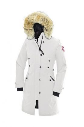 Canada Goose Outlet Kensington Parka Women White With Fast Delivery - $319