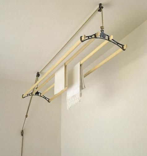 domestic science sheila maid ceiling mounted airer. Black Bedroom Furniture Sets. Home Design Ideas