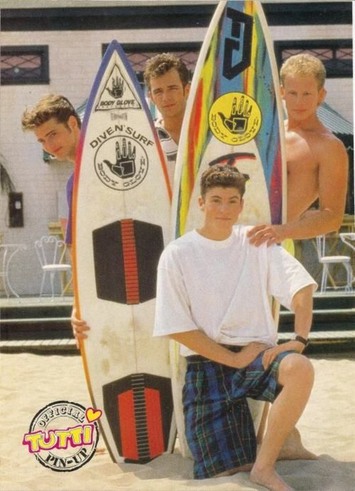 beverly hills 90210 ♥ Brandon,Dylan,Steve and David