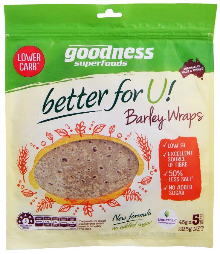 GSF better for U! Barley Wraps - 08-07-15 V5
