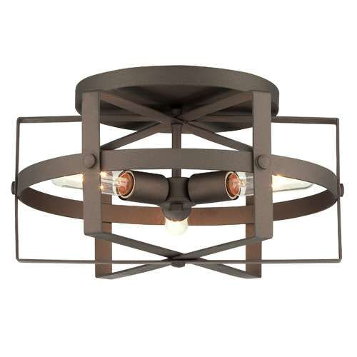 Reel 3 Light Flush Mount Ceiling Light