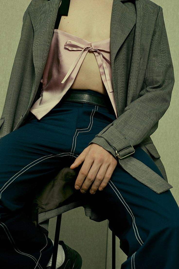 Chin, Spring/Summer 2016. Aidan W shot by Nicole Maria Winkler and styled by Jack Borkett.
