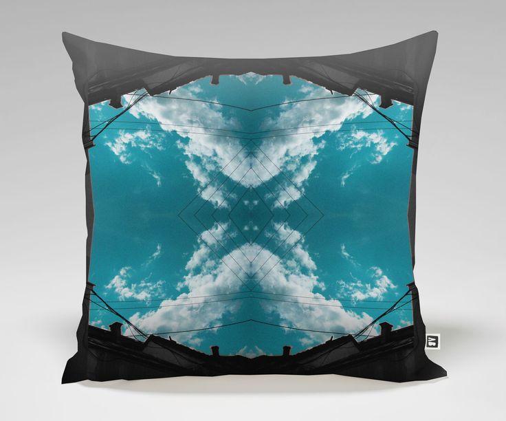 CLO Pillow #12 City Sky