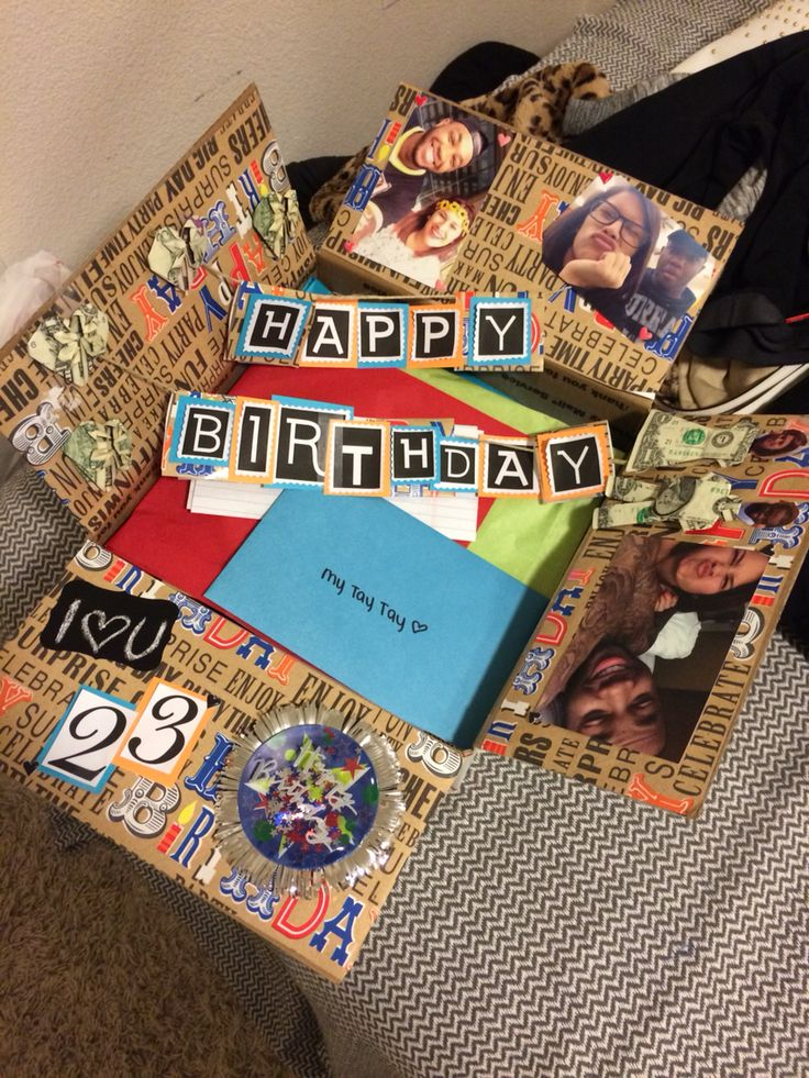 Birthday Box For Him have a long distance relationship