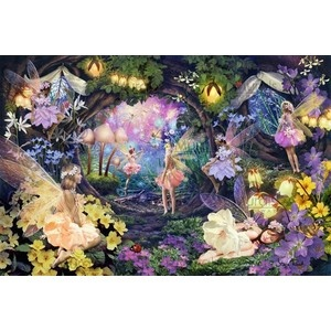 Fairy Hollow Wall Mural By Steve Read Enchanted Fairy