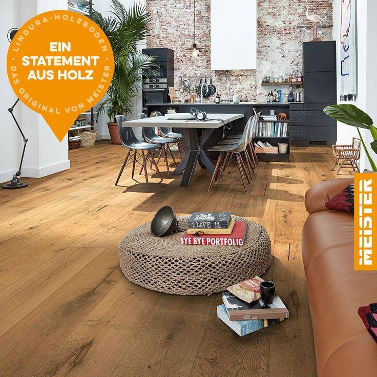 Der Hightech Holzboden The High Tech Wood Flooring Holzboden Eiche Rustikal Holz