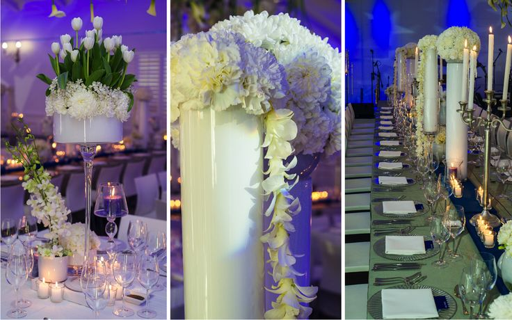 International Polo Rides into Cape Town #destinationevent #corporateevent #exclusiveevent #VIPevent #theconceptscollection #customdesigneddecor #cascadingfloral #whitevases #tallarrangements