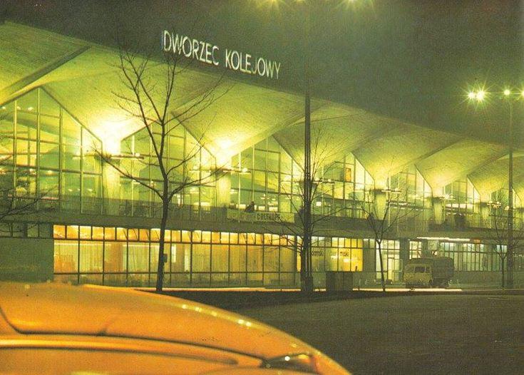 Dworzec Kolejowy Katowice, 1976