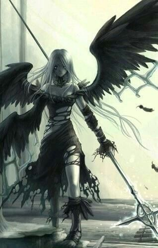 Angelo con spada