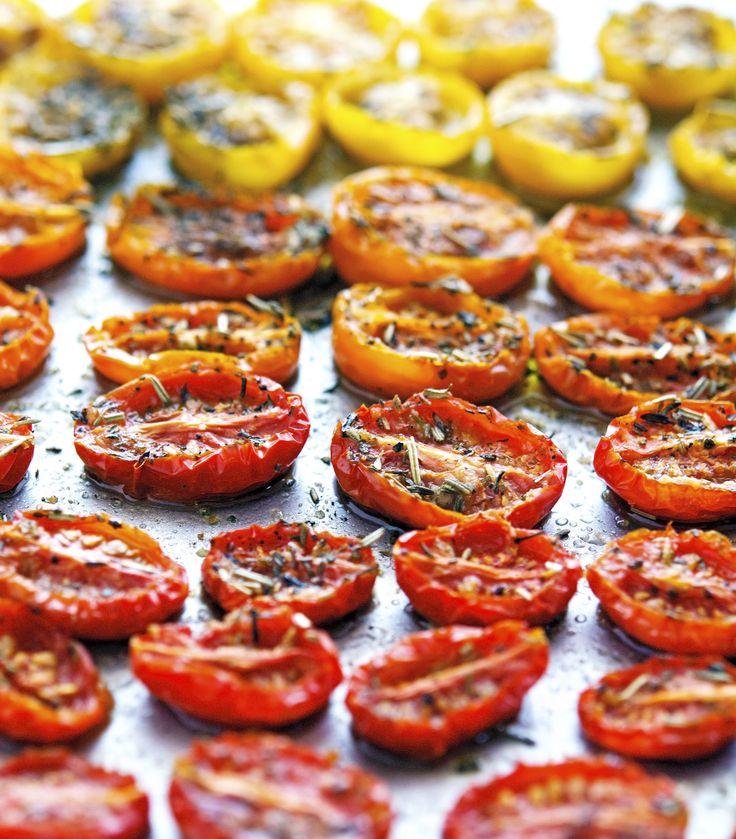 Provencal Slow-Roasted Tomatoes