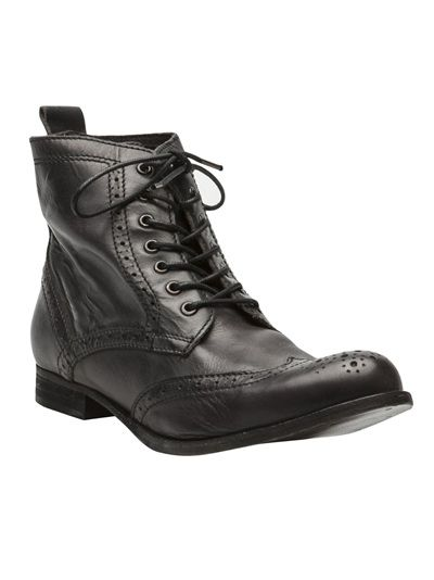 H BY HUDSON Wing Tip Boot