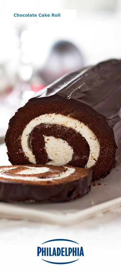 Want to make something extra special for your holiday guests? This classic Chocolate Cake Roll made with Philadelphia Cream Cheese is the perfect complement to your dinner menu. Maybe make two… just in case.