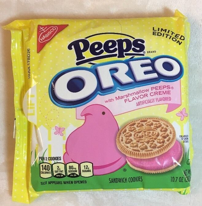 Nabisco OREO PEEPS Marshmallow Peeps Sandwich Cookies LIMITED EDITION EASTER  | eBay