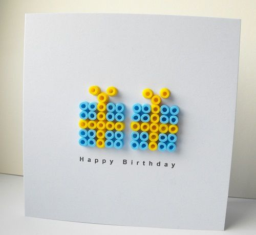 Hama beads -- love it.