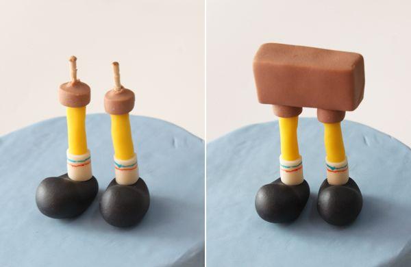 Cómo moldear a Bob Esponja paso a paso con fondant y pasta de goma: trucos, herramientas y presentación.