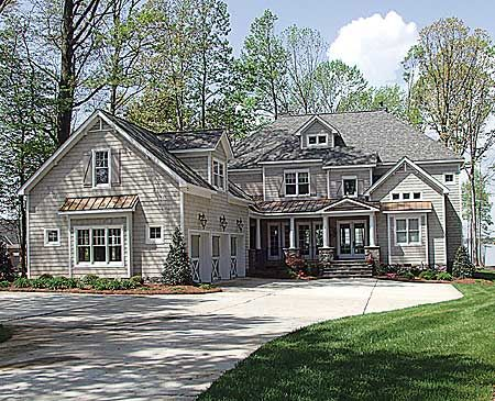 Plan 17530lv Shingle Style With Welcoming Porch House