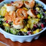 Superfood Salad with Lemon Vinaigrette: Super Food, Fun Recipe, Black Beans, Superfood Salad, Superfoodsalad, Beans Salad, Lemon Vinaigrette, Grilled Shrimp, Iowa Girls Eating