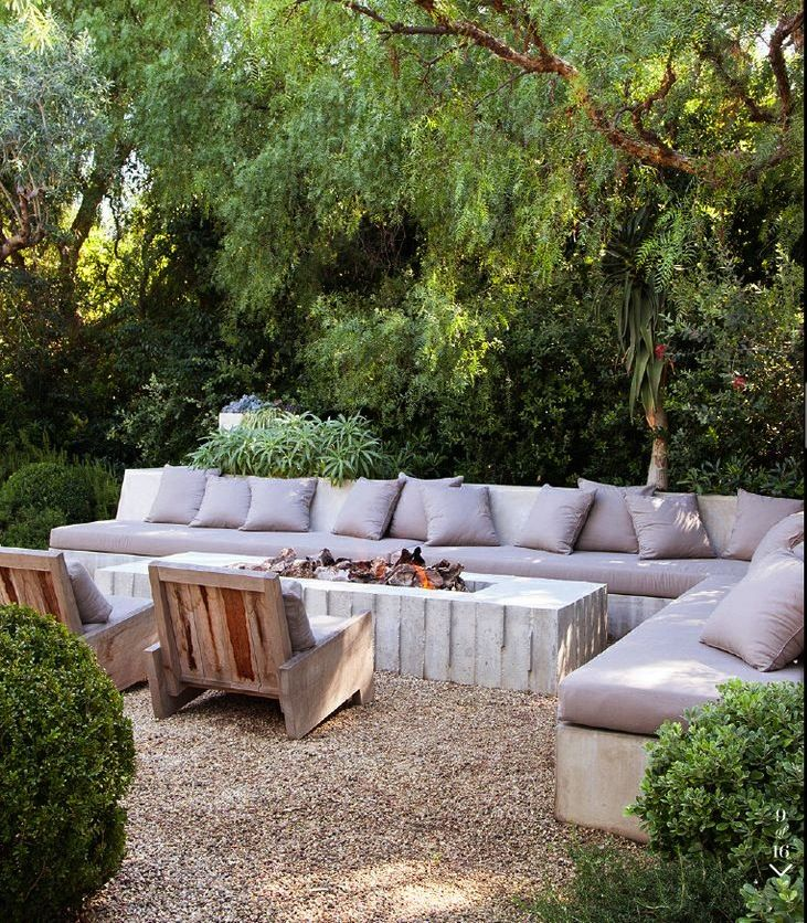 Outdoor Living. Patrick Dempsey design