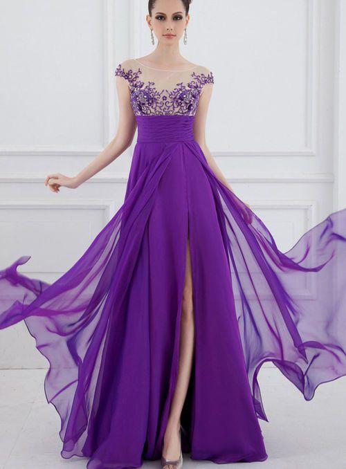 #Jewel Empire Prom Dress