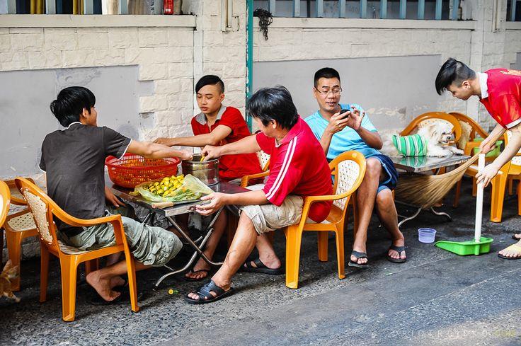 Saigon miasto skuterów