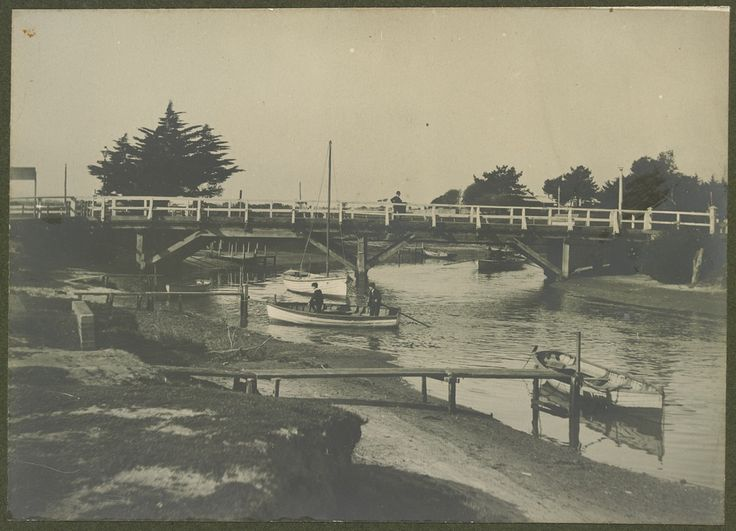 Mordialloc Creek Bridge - c1900