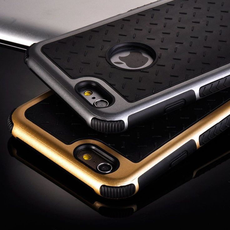Para apple iphone caso tpu de goma de silicona a prueba de golpes caso de la contraportada para iphone 6 6 s/plus/sí y 5 5S antidetonantes teléfono caso