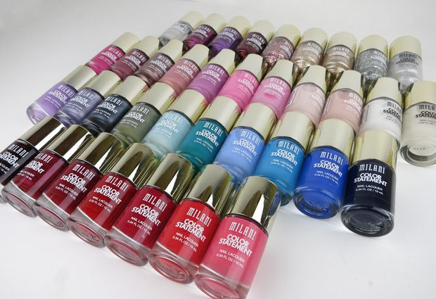 Milani Color Statement Nail Lacquer Collection: Swatches and Review | we heart this | we heart this