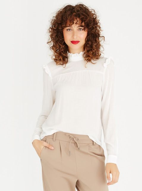 How to Wear the Victorian Blouses   top available at Spree