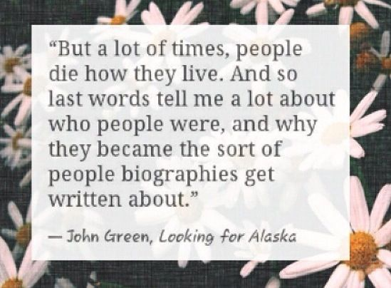 Looking For Alaska Miles: 127 Best Images About Looking For Alaska On Pinterest